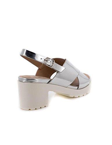 Mtng Silber Collection Sandalen Plexy Damen rqrwpfT