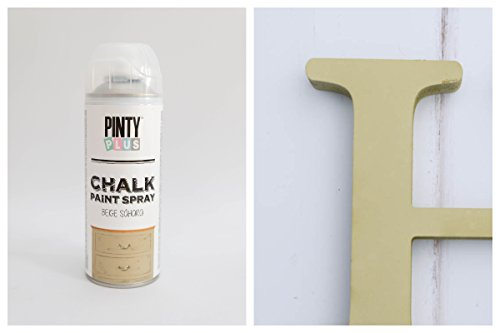 Pinty Plus, spray de tiza BBE 400ml, amarillo mostaza