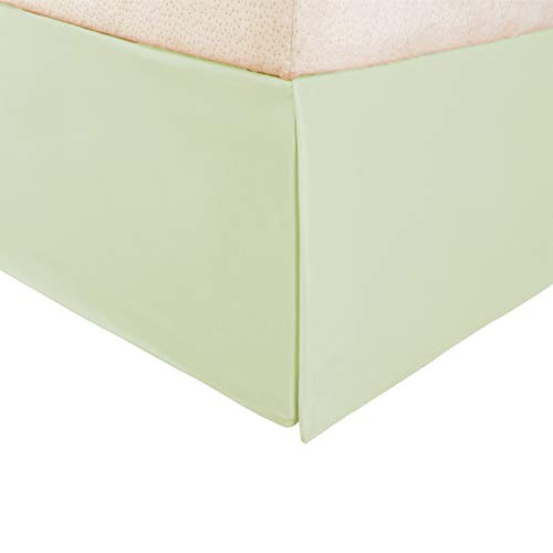 Superior Vanessa Collection 1500 Serie Faltenrock aus 100% Mikrofaser Modern Twin X-Large Mint -