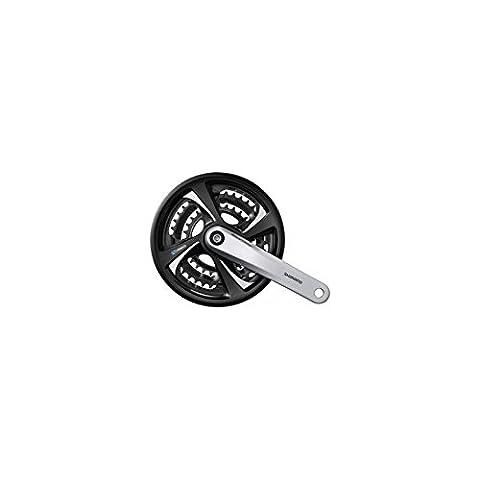 Shimano pédalier modèle tX 801 42/32/22 mm 170 fC-tX 801 4 pans 7/x8 kSS argent