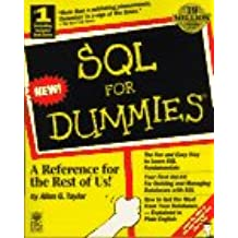 SQL for Dummies (...for Dummies Computer Book)