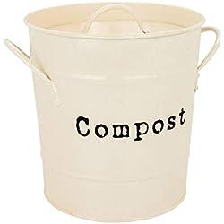 Harbour Housewares Bac à Compost métallique de Jardin/de Serre