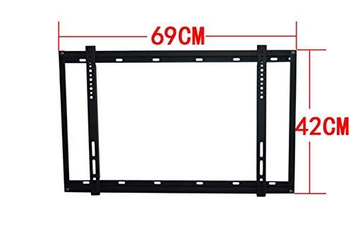 QTJ Fester Wandständer,Haushalt Wandhalterung, 40-63 Zoll LCD TV Halterung Wandhalterung Plasma Display Rack 42/43/46/47/50/55, Wandhalterung