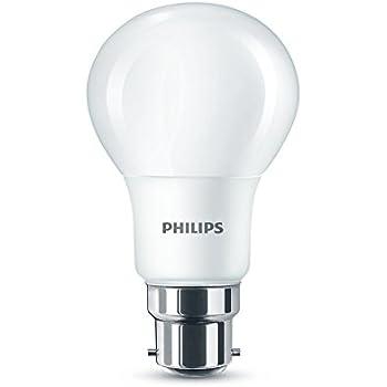 Philips Led B22 Bayonet Cap Light Bulb Frosted 5 5 W 40