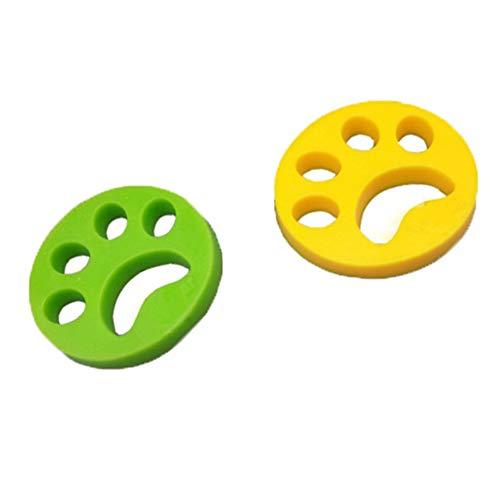 Jiang Hui Haustier haarentferner für Wäsche Pet Hair Catcher Reinigung Ball Tierhaarentferner für Waschmaschine für Hundehaar, Katzenfell und alle Haustiere -