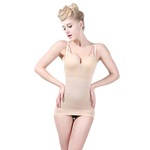 Mymyguoe Corset de Mujer Arnés de Cabestrillo Abdominal Vestido Mujer Verano Cuerpo de la Mujer Control del Modelado Estómago Delgado Corsé Corsé Escultura Corporal
