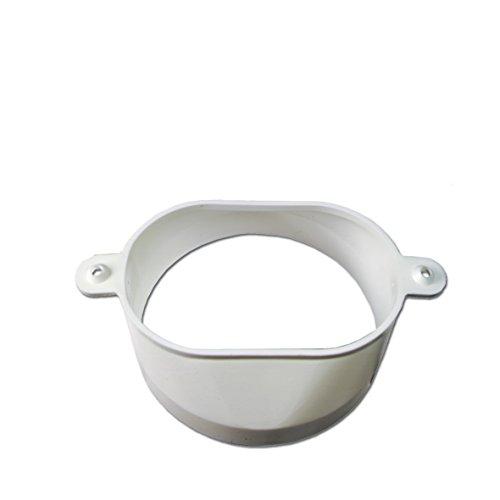 Abluft-Adapter Oval/100erØ für Trockner-Abluftschlauch 00074816