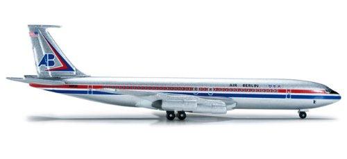 Preisvergleich Produktbild Herpa 523578 - Air Berlin USA Boeing 707-300