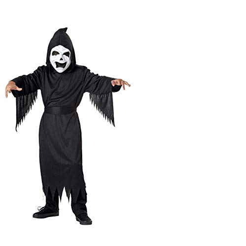 Paare Kostüm Für Scary - lopollg Halloween Ghost Festival Kinder Horror Maske Maske Zombie Kostüm Dress Up Scary Ghost Robe Set Robe Set 7-9 Jahre 120-130Cm