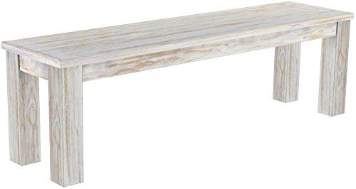 Brasilmöbel Banc 'Rio Classico'150 cm, en pin Massif Teinte Brasil Shabby