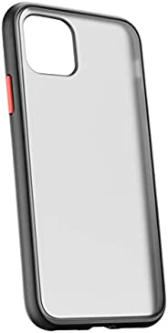 جراب DigMonster لهاتف iPhone 12 لهاتف iPhone 12 pro / جراب (6.1 بوصة) - تصميم هجين أسود غير لامع