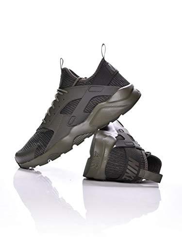 Nike Herren Air Huarache Run Ultra Se Khaki Leder Sneaker 46