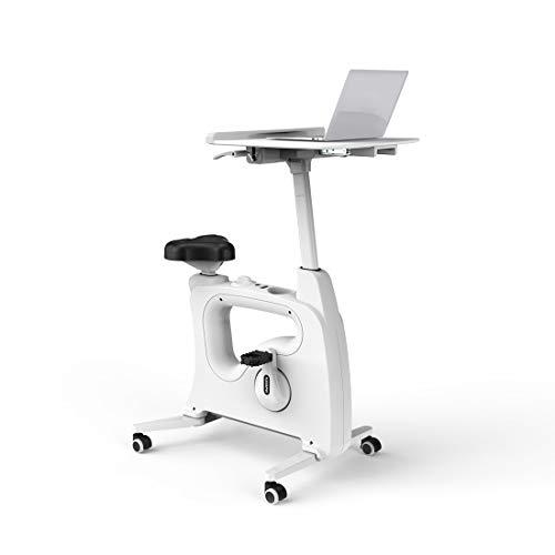FLEXISPOT V9B Höhenverstellbares Tischfahrrad Schreibtisch, Heimtrainer Bewegungstrainer Pedaltrainer Fitness-Fahrrad Heimfahrrad Trainingsrad Trainingsgerät Fitnessgerät