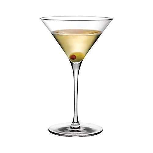 Nude 2 Martini Gläser Vintage, Kristall, 290ml -