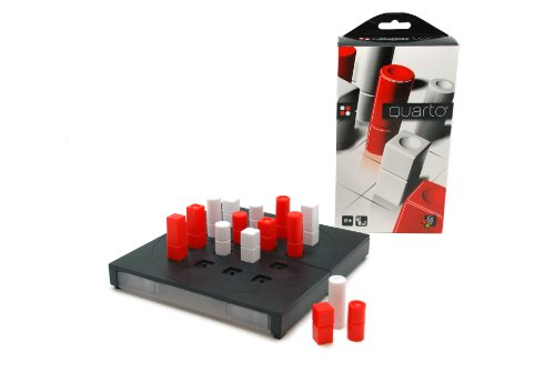 Gigamic 130045 - Quarto Pocket, Brettspiel