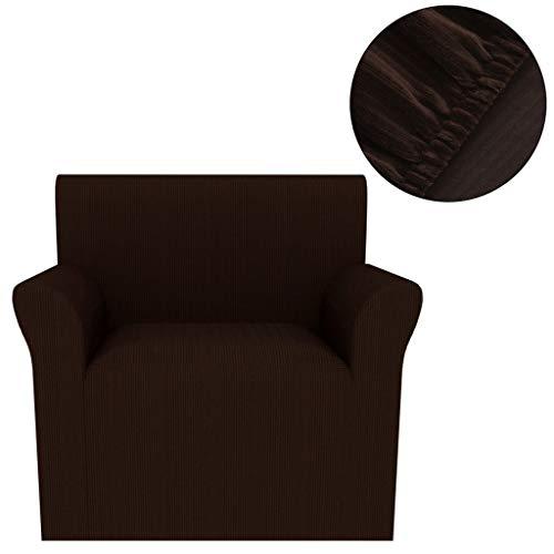 XINGLIEU Elastischer Sesselbezug, Stoff, Polyester, Gestrickt, breite Streifen, modern, Dehnbar,...