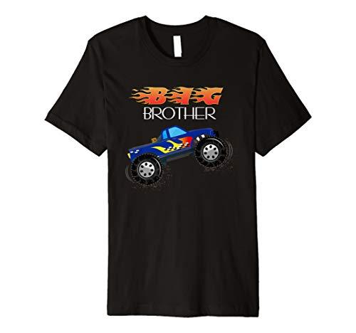 Big Brother Truck T-Shirt Kleinkind/Infant Kinder Tee