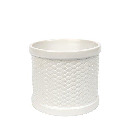 Yankee Candle 1347015 Melt-Cup, Keramik, 11 x 12,5 x 11 cm, weiß
