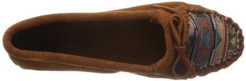 Minnetonka El Paso II 472K Damen Mokassins Braun (Brown 2K)