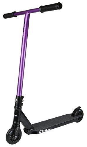 Chillli Pro C1 50cm Purple Custom Stunt-Scooter 2014 integrated Deck (Pro Scooter Custom)