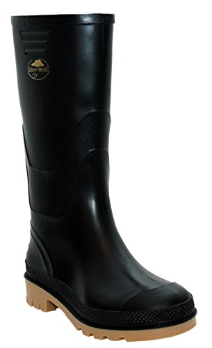 Stormwells Boys Kids Infant Youth Waterproof Rain Puddle Wellington Boots Wellies Shoes UK Sizes 10-6