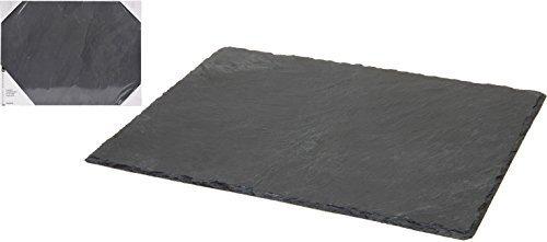 Schiefer Servierplatte ONE Platte Käseplatte Tischset Platzset 30x40cm