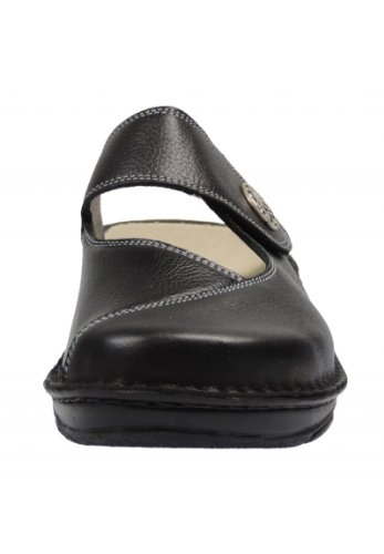 Berkemann Heliane03457 pantoufle cuir Noir