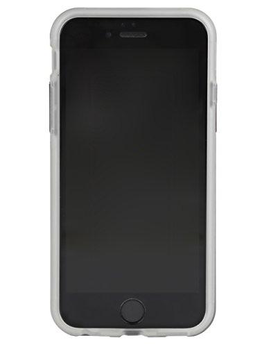 Skech SK26-HRD-PNK Hard-Rubber DUO Case für Apple iPhone 6 / 6S - 2-teilige, matte Schutzhülle mit edler Soft-Touch Beschichtung - pink transparent (DUO)