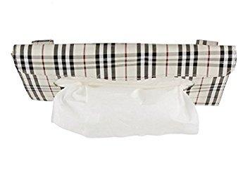 Preisvergleich Produktbild Honeysuck Auto PU Leder Sonnenblende Tissue Box Papier Serviettenhalter