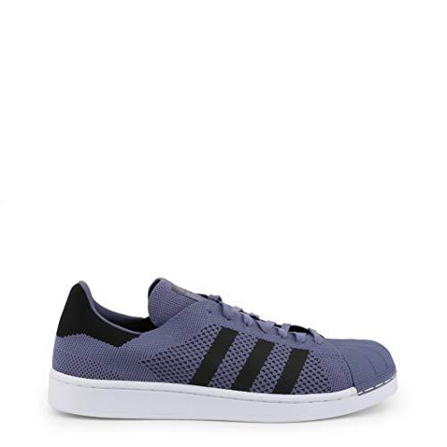 Adidas Sneaker Superstar-Primeknit Hombre Color: Violeta Talla: 3.5