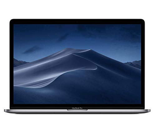 Apple MacBook Pro (15 Zoll, 2,6 GHz 6‑Core Intel Core i7 Prozessor der 8. Generation, 512GB) - Space Grau (Vorgängermodell) 15 Macbook Pro