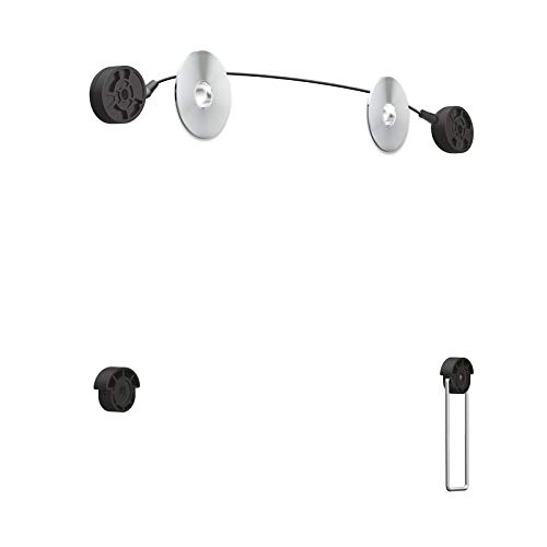 TooQ LED1055F-B - Soporte ultra delgado de pared para monitor/TV/LED de 32
