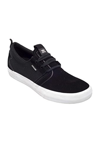 Supra - Chaussures Skateshoes Homme Flow - Taille:one Size Black-White