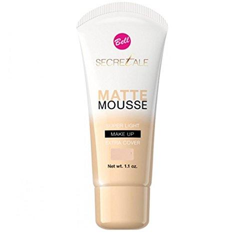 Base maquillaje cobertura Matte Mousse-Bell