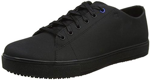 Restaurant Rutschfeste Schuhe, (Shoes for Crews 36277-43/9 Style Old School Low Rider III Men's Slip Resistant Trainers, Size 43 EU, Black)
