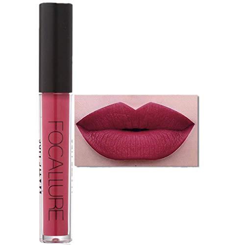 Lip Gloss FORH FOCALLURE Lippenstifte Kosmetik Sexy Lippen Matte Lipgloss Wasserdichte Long Lasting...