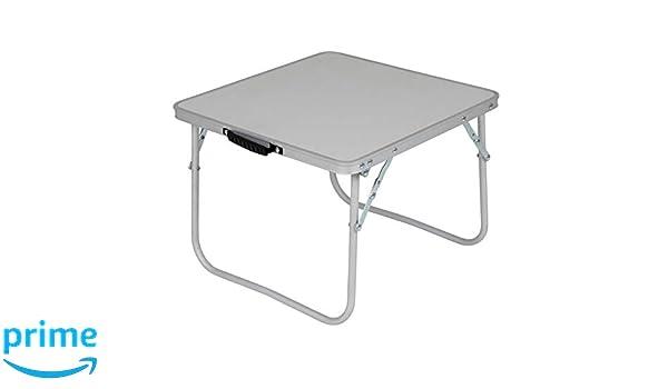 Niedriger Campingtisch 60 x 40 cm zusammenfaltbar bis zu 30kg belastbar /• Gartentisch Klapptisch Koffertisch Falttisch Tisch Bierzelttisch