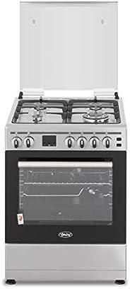 Terim 60X60 Cooker, 4 gas burners, Stainless Steel, TERGC66ST, 1 Year Warranty