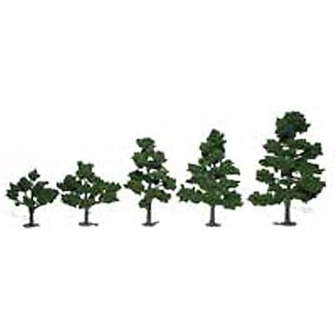 Woodland Scenics 3 - 7 Árbol De Hoja Caduca Equipo