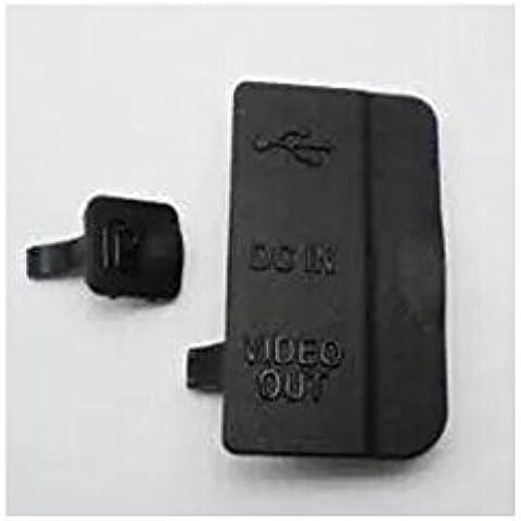 Haodasi USB / HDMI DC IN / VIDEO OUT gomma portello della copertura per NIKON D80 DIGITAL CAMERA