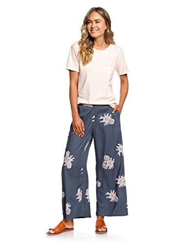 Roxy Midnight Avenue - Wide Leg Viscose Trousers - Weite Viskose-Hose - Frauen -