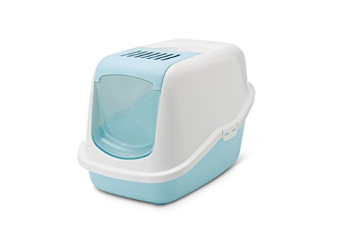 Savic Nestor Cat Toilet Retro Blue