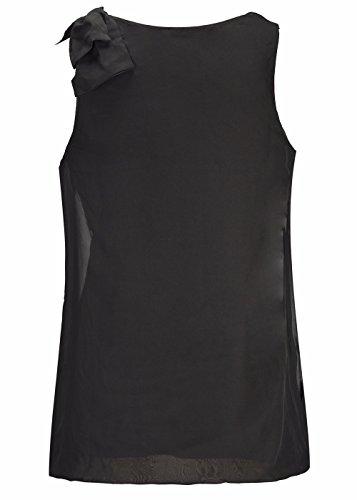 Ruiyige - Chemise - Femme Noir
