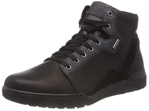 Geox Herren U REDWARD B ABX B Klassische Stiefel, Schwarz (Black C9999), 45 EU