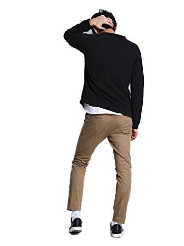 IMPERIAL - Homme pantalon chino pf68tdu Mud