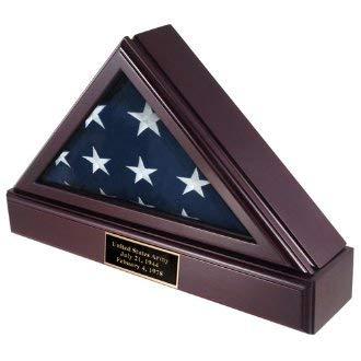 TANGHAA Gottesuute-Fahne und Sockelvitationsgehäuse für amerikanische Fahne, die in Einer Beerdigung über einem Sarg lag (Fan Beerdigung)