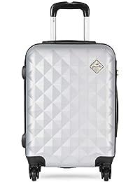 PRONTO Naples ABS 55 cms Silver Hardsided Cabin Luggage (7807 - SL) 8ade9d3eba6c8