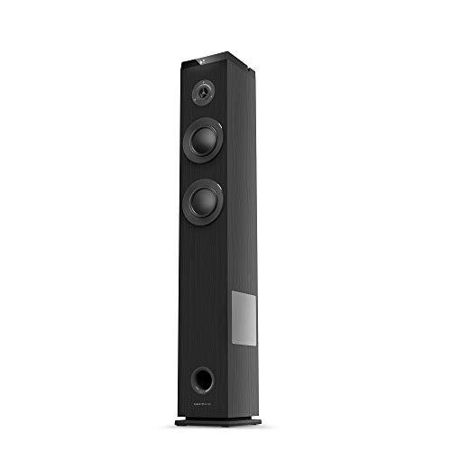 Oferta de Energy Sistem Tower 5 g2 Torre de Sonido con Bluetooth Ebony (65 W, Bluetooth 5.0, True Wireless Stereo, Radio FM, USB/MicroSD MP3 Player, Audio-In)-Negro