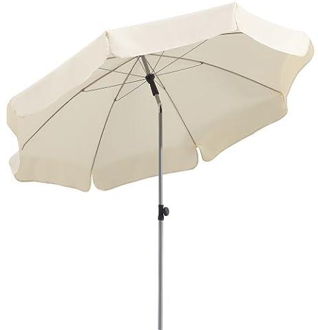 Parasol Schneider Locarno,nature,env. 200 cm Ø,en 8 parties,rond