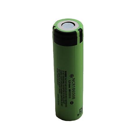 Panasonic NCR18650B_1 18650 Li-Ion Akku (3,7 V, 3400mAh, 1-er